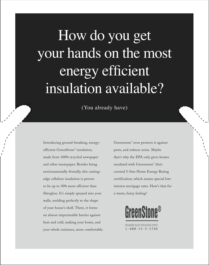Greenstone newspaper ad