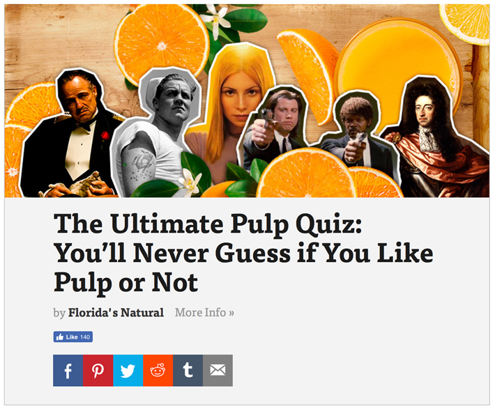 Ultimate Pulp Quiz